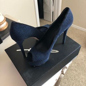 Brian Atwood Navy Pumps